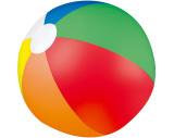 "Ballon de plage multicolor ""Palm Springs"""